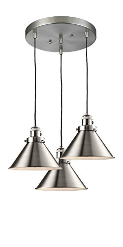 (Innovations Lighting 211/3-SN-M10 Three Light Pendant)