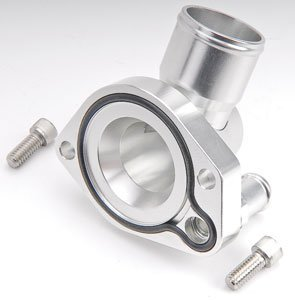 CSR Performance Products 9111C Clear Swivel Thermostat Housing for Small Block Ford