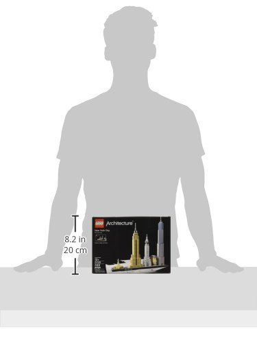 31JgV%2BC1y%2BL - LEGO Architecture New York City 21028, Skyline Collection, Building Blocks