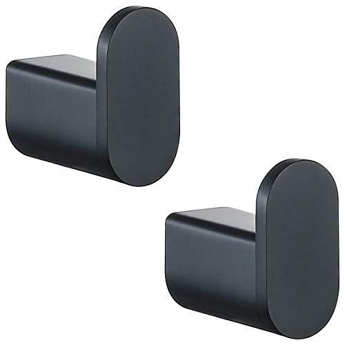 RANDOM Hanting Matte Black Towel Hooks Bathroom Hardware Accessories Hook 304 Stainless Steel Wall Hook Black Matte…