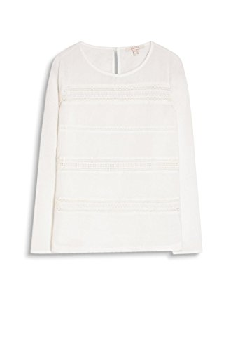 Off ESPRIT Camicia Bianco White Donna ZFZwxBRAq