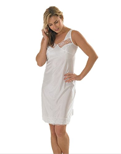 Marlon Ladies Full Slip White 14