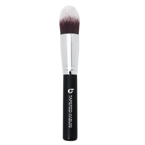 Concealer Makeup Brush Tapered Kabuki – Best Eye Brush for Under Eye Concealing Liquid Cream Powder Make Up for Full Coverage Cosmetic Applicator Soft Dense Synthetic Vegan Brochas de ()