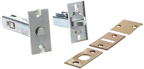 (Rockwood 2960.10 Automatic Flush Bolt With Bottom Fire Bolt for Fire Rated Wood Core & Composite Doors, 1-1/8