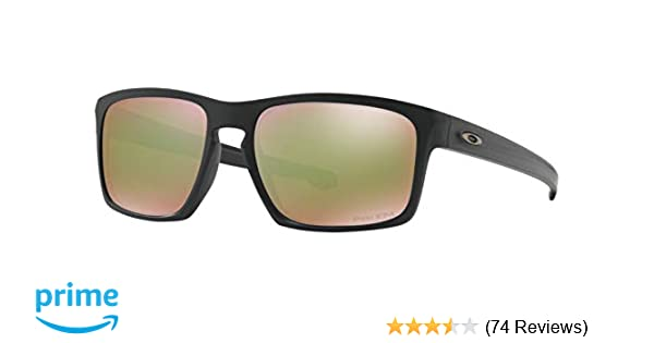 7b8ecb5d03 Amazon.com: Oakley Mens Sunglasses Black/Green - Polarized - 57mm ...