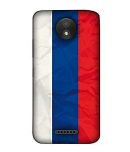 ColorKing Football Russia 08 Multicolor shell case cover for Motorola Moto C