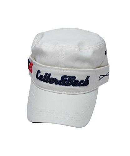 カッター&バック ゴルフ キャップ ドビーシャンブレーストレッチ CGBLJC04 WH00 F