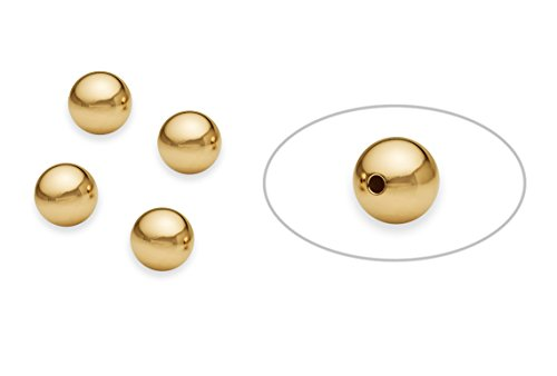 10 Pieces 8 mm 14K Gold Filled Round Smooth Beads