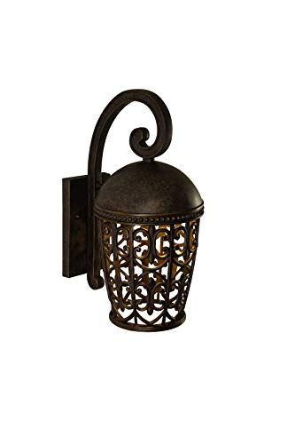 Cheap Designers Fountain 97592-BU Amherst-DS Wall Lanterns, Burnt Umber