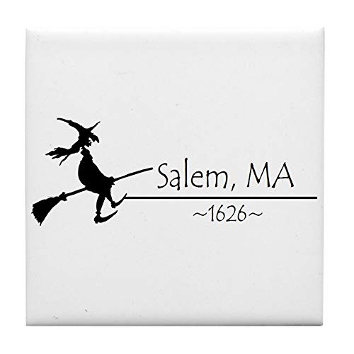 CafePress Salem, MA 1626 Tile Coaster, Drink Coaster, Small - Salem Tile
