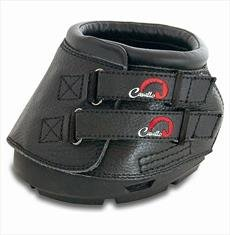 Black 2 Black 2 Cavallo Simple Hoof Boots