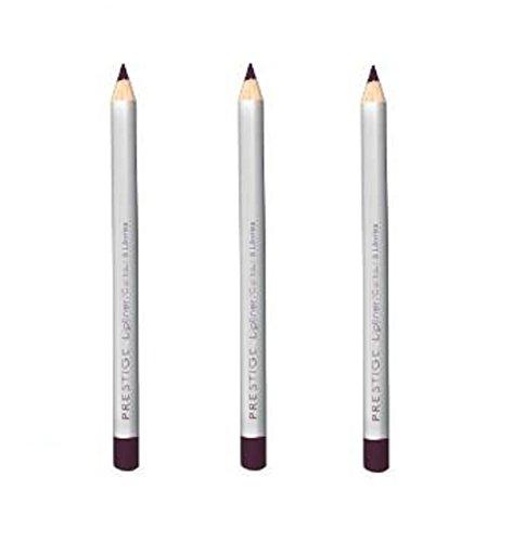 Lot of 3 pcs Prestige Classic Lip Liner 04 oz (50 Bordeaux) (Pencil Lip Ounce 0.04)