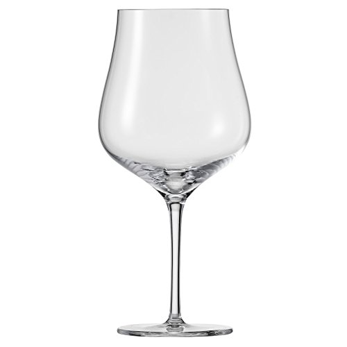 Schott Zwiesel Tritan Crystal Glass Concerto Stemware Collection, Burgundy, Red Wine Glass (Set of 6), 25.4 oz, Clear