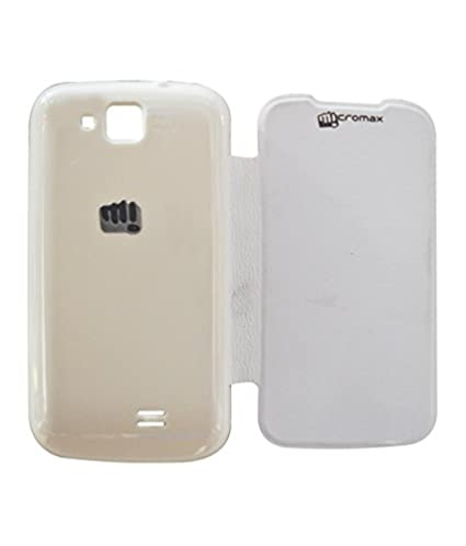 quality design 1b539 10cd0 COVERNEW Flip Cover for Micromax Canvas Fun A63 Flip: Amazon.in ...