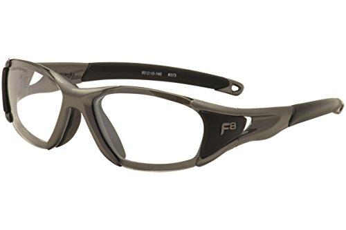 Rec-Specs Velocity Size A (60) - Satin Gunmetal-Black/Clear Silver - Liberty Sport Glasses