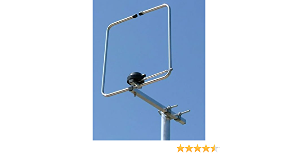 hlp-2 144 MHz 2 m Halo Loop Folded dipolo Antena