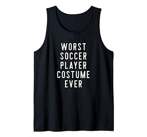Couples Halloween Costume Worst Soccer Player Costume Ever Tank Top