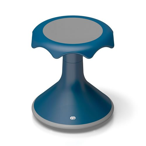 Hokki Stool 15'' Blue by Hokki
