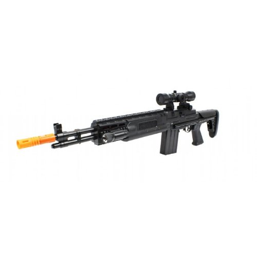 TD-2015 M14 Sniper Electric Toy Gun w/ Collapsible Stock