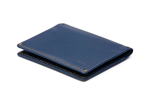 Bellroy Leather Slim Sleeve Wallet Blue Steel by Bellroy