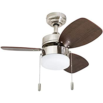 Craftmade Outdoor Ceiling Fan With Led Light Ppl24pln6 Propel 24 Inch For Patio Polished Nickel