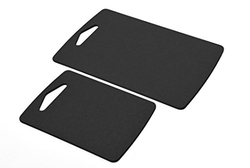 Prep Series Cutting Boards By Epicurean, 2 Piece Set, Slate (Board Cutting Recycled)