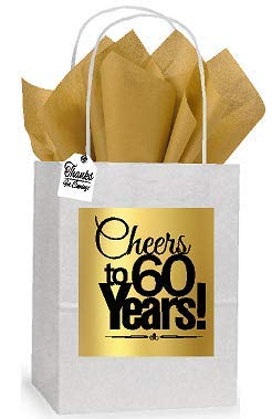 Amazon 60th Cheers Birthday Anniversary White And Gold Themed