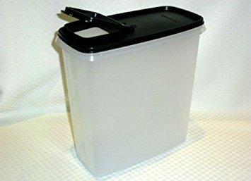 (Tupperware Modular Mates Super Cereal 20 Cup Storer Jet Black)
