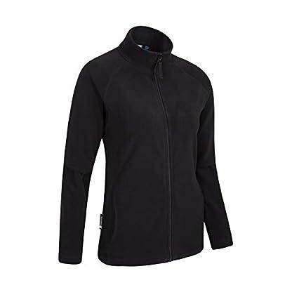 Mountain Warehouse Raso Womens Fleece - Microfleece Ladies Sweater Top, Breathable Baselayer, Soft Touch, Warm - Best… 2