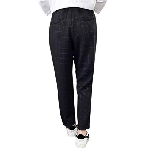 Grande 3xl Pour Sports Avec Fit 8 La Poche Sarouel 2 A Élastiquée Pantalon 7 Harem Longueur Femme Loose S Casual Taille Hibote OwRpZZ