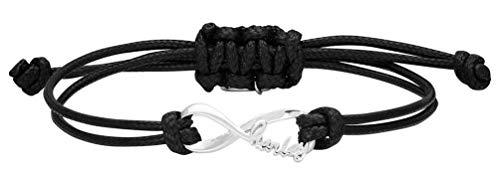 Harley-Davidson Women's Harley Infinity Wax Adjustable Cord Bracelet ()