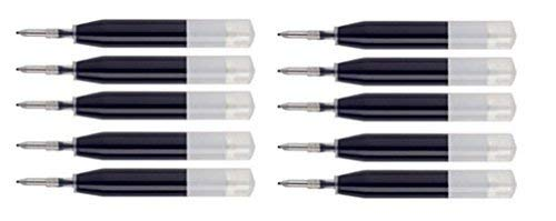 Cross Fine Point Ion Pen Refills Black Ink 10 Pack Bulk Packing Refill Has Wax on Tip and Plastic Cap