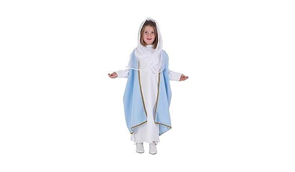 LLOPIS - Disfraz Infantil Virgen t-1: Amazon.es: Juguetes y juegos