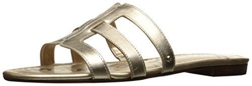 Sam Edelman Women's Berit Slide Sandal, US Dark Molten Gold
