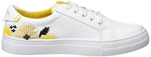 SIXTY SEVEN Damen Pompei Fitnessschuhe Weiß (Actled Blanco F/Neoprene Yellow)