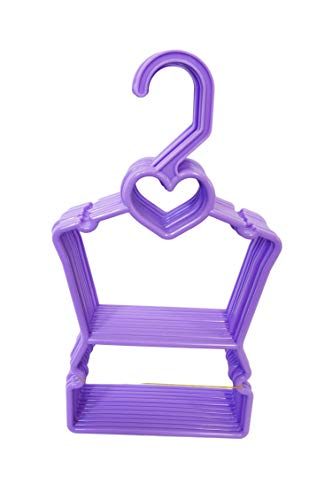 My Brittany's Lavendar Heart Hanger for 18 Inch Doll Clothes Fits Compatible with American Girl Doll Clothes (Brittany Doll)