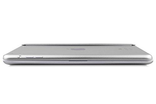 iPad Mini 3/2/1 Keyboard, Raydem Ultra-Thin iPad Mini Wireless Bluetooth Keyboard Folio Cover 130 Degree Multi-Angle Swivel Rotating with Auto Wake/Sleep for Apple iPad Mini 1/2/3 by Raydem (Image #7)