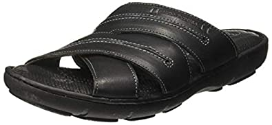 Hush Puppies Men's New Track Mule Leather Thong Sandals