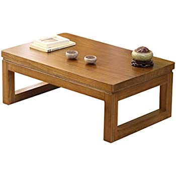 Café Tables Café Furniture Japanese Style Antique Solid Wood Tea Table Tatami Small Coffee Table Solid Paulownia Wood Furniture Living Room Low Tea Table Fashionable And Attractive Packages