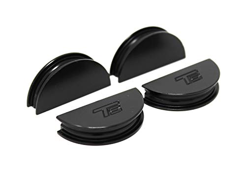 Torque Solution Valve Cover Cam Seals (Black) Fits Subaru WRX/STI/FXT/LGT 02-06