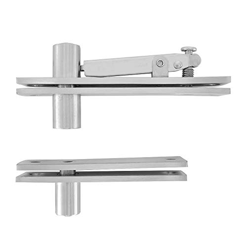 Doors Wood Flush - Alamic Door Pivot Hinges Heavy Duty Hinges for Wood Doors 360 Degree Shaft Stainless Steel Murphy Door Pivot Hinge System
