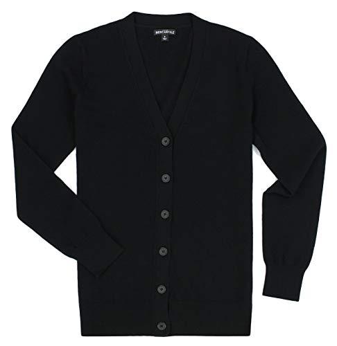 (J. Crew - Women's - V-Neck Button Down Cardigan (Multiple Color/Size Options) (Medium, Black))