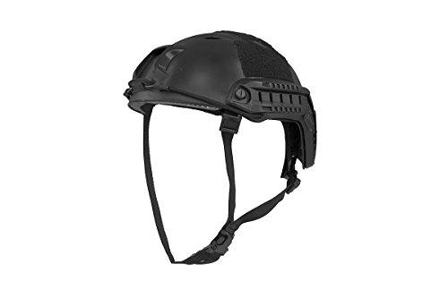 (Palco Sports Firepower Airsoft Base Jump Style Helmet w/Accessory RIS - Black)