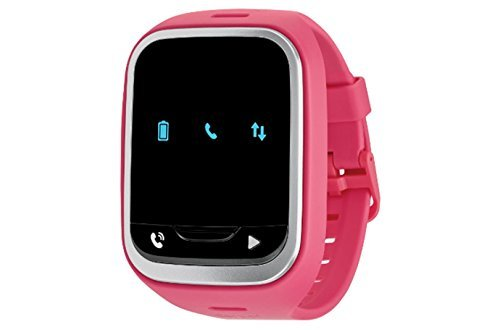 LG GizmoPal 2 VC110 Verizon Wireless GPS Track Call Child Wearable Smartwatch - For Verizon Wireless Only - Pink (Certified Refurbished) by LG