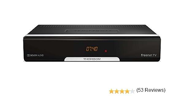 Thomson THT740 Terrestre Negro tV set-top boxes - Reproductor/sintonizador (Terrestre, DVB-T,DVB-T2, 576i,576p,720p,1080i,1080p, 4:3, 16:9, H.265, H.265,HEVC): Amazon.es: Bricolaje y herramientas