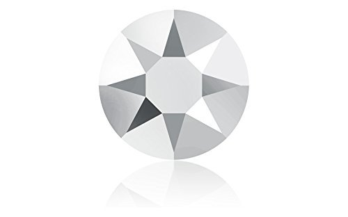 Swarovski Crystal LIGHT CHROME (001 LTCH) Rhinestone Gems - Small Pack - 3.2Mm (Ss12) 55 In Pack by Swarovski Element