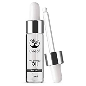 Nail and Cuticle Oil by Eylleaf Sweet Almond oil 15 ml