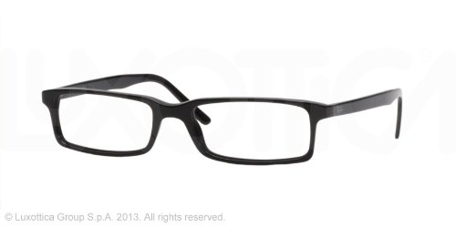 86e494751d Image Unavailable. Image not available for. Colour  Ray Ban RX5095 2000  Eyeglasses Shiny Black ...