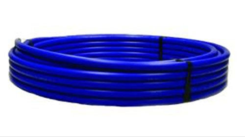 Advanced Drainage Systems X4 1250300 250 Psi Cts Poly Pipe  1  X 300   Blue