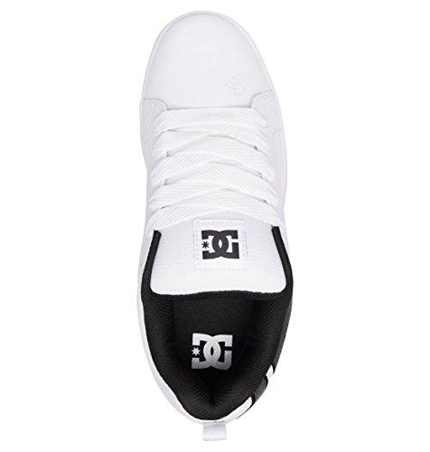Graffik SBg9 White Court Sneakers Battleship Herren DC zFxwWqE5AA